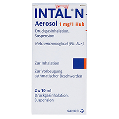 Intal N Aerosol 1mg/Hub 2x10 Milliliter N2 - Rückseite
