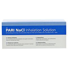 PARI NaCl Inhalationslösung Ampullen 60x2.5 Milliliter - Rückseite