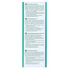 CYCLOTEST Chlamydien-Schnelltest 1 Stück - Rückseite