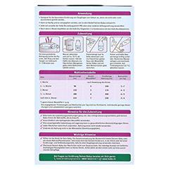 HOLLE Bio Säuglings Milchnahrung 1 400 Gramm - Rückseite