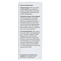 CERES Taraxacum Urtinktur 20 Milliliter N1 - Rückseite