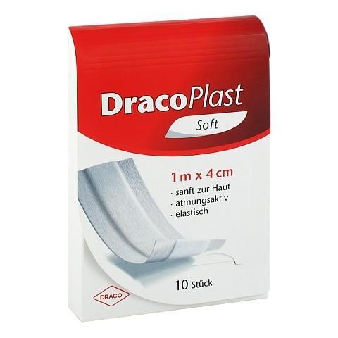 DRACOPLAST Soft Pflaster 4 cmx1 m 1 Stück