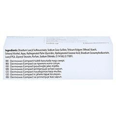 DERMOWAS compact Seife 100 Gramm - Oberseite