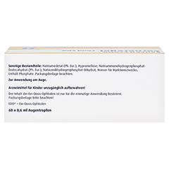 Corneregel Fluid EDO Augentropfen 60x0.6 Milliliter N2 - Oberseite
