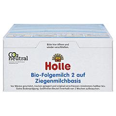 HOLLE Bio Folgemilch 2 auf Ziegenmilchbasis Pulver 400 Gramm - Unterseite