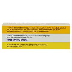 Terzolin 2% 15 Gramm - Unterseite