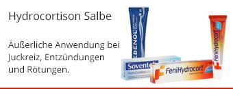 Hydrocortison Salbe Themenshop