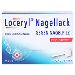 Loceryl gegen Nagelpilz 2.5 Milliliter N1 - Vorderseite