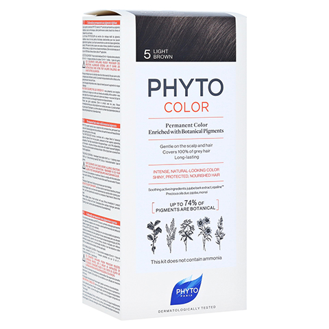 PHYTOCOLOR 5 helles braun ohne Ammoniak 1 Stück