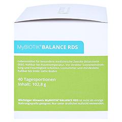 MYBIOTIK BALANCE RDS 40x2 g Plv.+40 Kapseln 1 Packung - Linke Seite