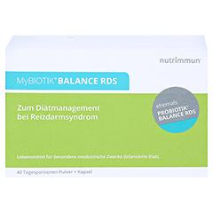MYBIOTIK BALANCE RDS 40x2 g Plv.+40 Kapseln 1 Packung - Vorderseite