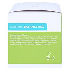 MYBIOTIK BALANCE RDS 40x2 g Plv.+40 Kapseln 1 Packung - Rechte Seite