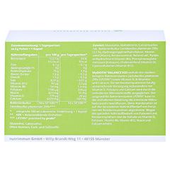 MYBIOTIK BALANCE RDS 40x2 g Plv.+40 Kapseln 1 Packung - Rückseite