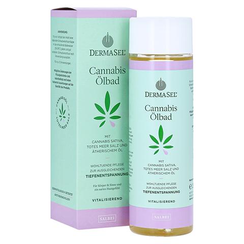 DERMASEL Cannabis Ölbad Salbei limited edition 250 Milliliter