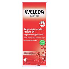 WELEDA Granatapfel regenerierendes Pflege-Öl 100 Milliliter - Vorderseite