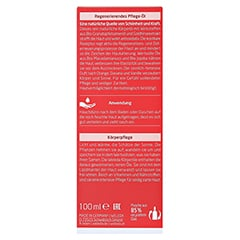 WELEDA Granatapfel regenerierendes Pflege-Öl 100 Milliliter - Rückseite