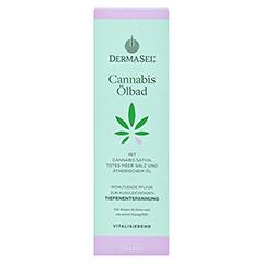 DERMASEL Cannabis Ölbad Salbei limited edition 250 Milliliter - Vorderseite