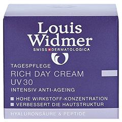 WIDMER Rich Day Cream UV 30 leicht parfümiert 50 Milliliter - Vorderseite