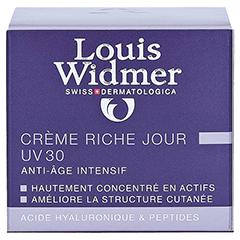 WIDMER Rich Day Cream UV 30 leicht parfümiert 50 Milliliter - Rückseite