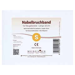 NABELBRUCHBAND für Neugeborene 1 Stück - Vorderseite