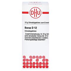 BORAX D 12 Globuli 10 Gramm N1 - Vorderseite