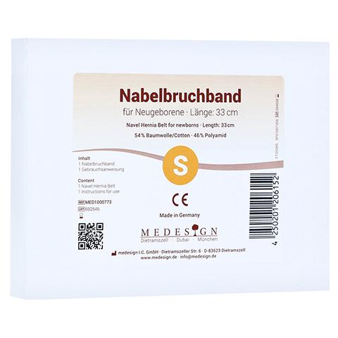 NABELBRUCHBAND für Neugeborene 1 Stück
