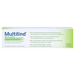 Multilind Heilsalbe mit Nystatin + gratis Multilind Waschlappen 25 Gramm N1 - Rückseite