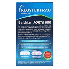 Nervenruh Baldrian Forte 600 30 Stück - Rückseite