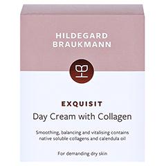 Hildegard Braukmann EXQUISIT Collagen Creme Tag 50 Milliliter - Rückseite