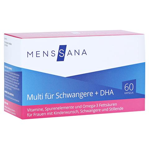 MULTI FÜR Schwangere+DHA MensSana Kapseln 60 Stück
