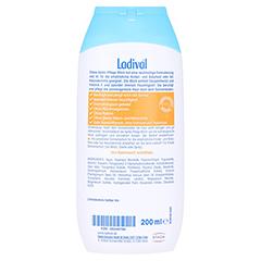 Ladival Kinder Apres Lotion + gratis Ladival Malheft 200 Milliliter - Rückseite