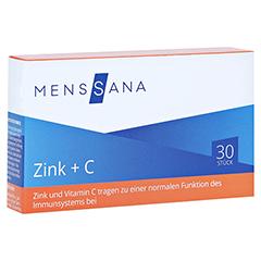 ZINK+C MensSana Lutschtabletten 30 Stück