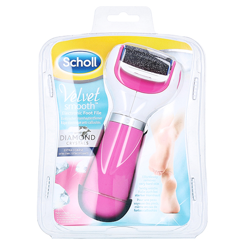 SCHOLL Velvet smooth Express Pedi pink 1 Stück