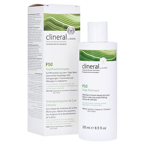 CLINERAL PSO Scalp Shampoo 250 Milliliter