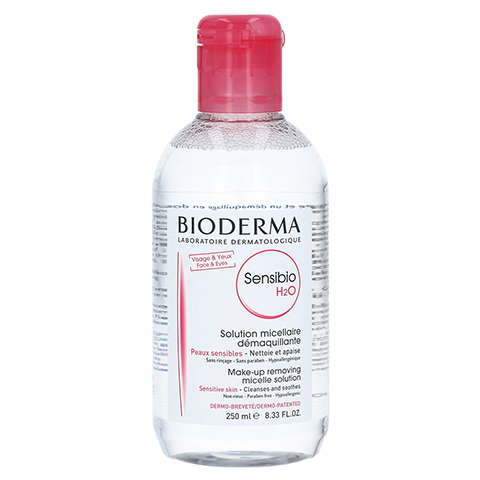 BIODERMA Sensibio H2O Reinigungslösung 250 Milliliter