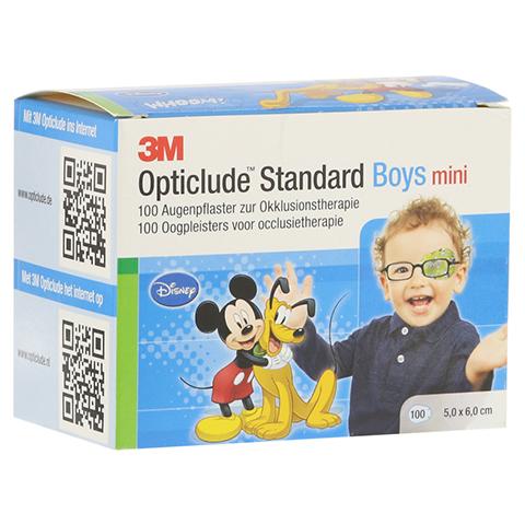 Opticlude 3M Standard Disney Pflaster Boys mini 100 Stück