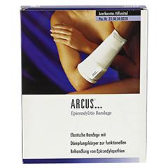 ARCUS Epicondyltis Bandage Gr.L marine 1 Stück - Vorderseite