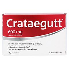 Crataegutt 600mg 90 Stück - Vorderseite