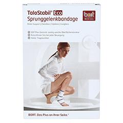BORT TaloStabil Eco Knöchelst.XL schwarz 1 Stück - Vorderseite