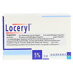 Loceryl gegen Nagelpilz 5 Milliliter N2 - Linke Seite