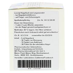 Loceryl gegen Nagelpilz 5 Milliliter N2 - Rechte Seite