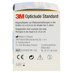Opticlude 3M Standard Disney Pflaster Boys mini 100 Stück - Rechte Seite