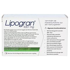 LIPOGRAN Tabletten 180 Stück - Rückseite
