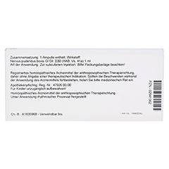 NERVUS PUDENDUS GL D 30 Ampullen 10x1 Milliliter N1 - Rückseite