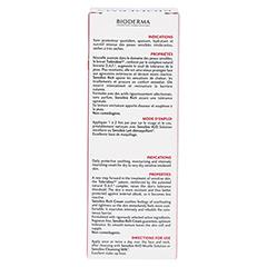 BIODERMA Sensibio riche Creme 40 Milliliter - Rückseite