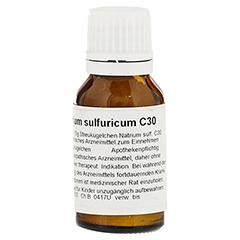 NATRIUM SULFURICUM C 30 Globuli 15 Gramm N1 - Rückseite