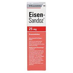 Eisen-Sandoz 25mg 20 Stück N1 - Rückseite
