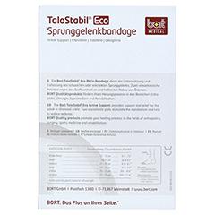 BORT TaloStabil Eco Knöchelst.XL schwarz 1 Stück - Rückseite