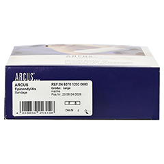 ARCUS Epicondyltis Bandage Gr.L marine 1 Stück - Unterseite