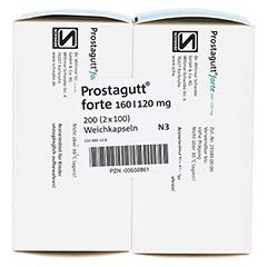 Prostagutt forte 160/120mg 2x100 Stück N3 - Unterseite
